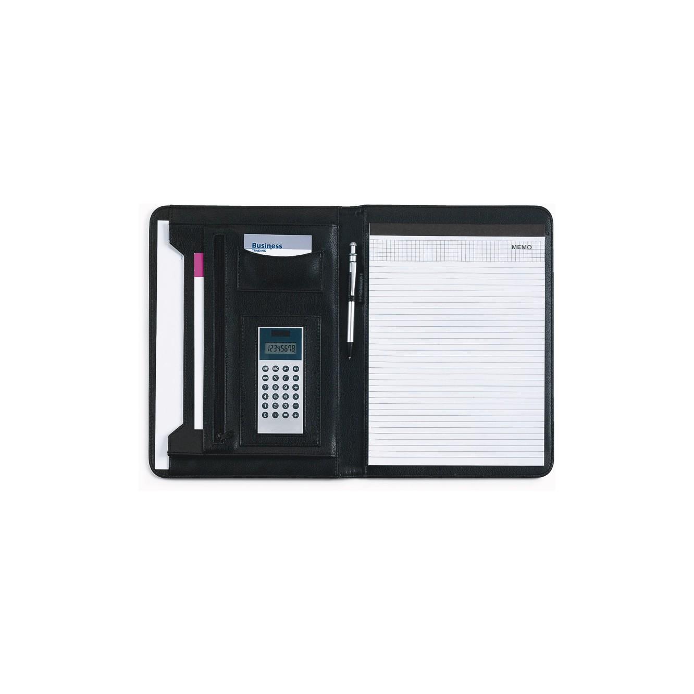 Schrijfmap A4 met calculator